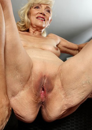 Old Shaved Pussy